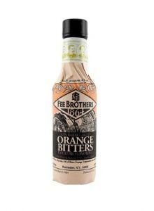 Fee Brothers Gin Barrel-Aged Orange Bitters 4 OZ