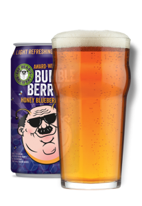 Fat Head's Brewery Bumbleberry Honey Blueberry Ale / 15-Pack cans