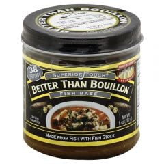 Better Than Bouillon Fish Base 8 oz Jar