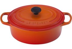 Le Creuset 3.5qt Signature Oval French Oven Flame