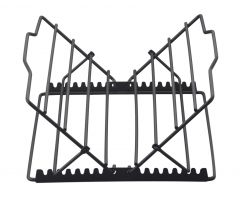 "Harold Imports 10""x 9.25"" Non Stick Adjustable Roasting Rack"