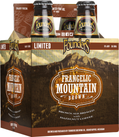 Founders Frangelic Mountain Brown / 4-Pack bottles