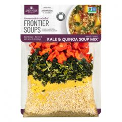 Frontier West Coast Kale & Quinoa Soup 4.25 oz Bag