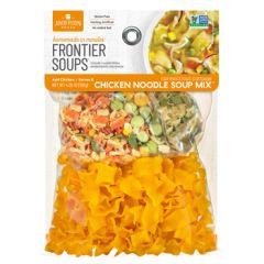 Frontier Connecticut Cottage Chicken Noodle Soup 4.25 oz Bag