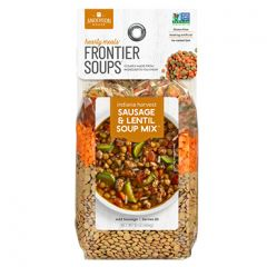 Frontier Indiana Harvest Sausage & Lentil Soup  16 oz Bag