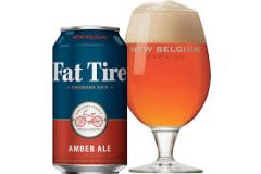 New Belgium Brewing Company Fat Tire / 12-Pack cans
