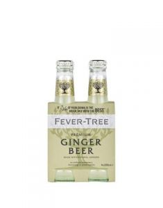 Fever-Tree Ginger Beer 4 Pk