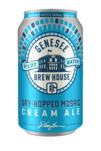 Genesee Brewing Co. Dry-Hopped Mosaic Cream Ale/ 12-pack cans