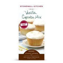 Stonewall Kitchen Gluten Free Vanilla Cupcake Mix 21.5 OZ