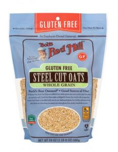 Bob's Red Mill Gluten Free Steel Cut Oats 24 oz Bag