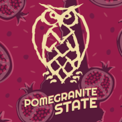 Night Shift Brewing Pomegranite State / 4-pack cans
