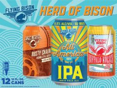 Flying Bison Herd of Bison Variety Pack / 12-pack cans