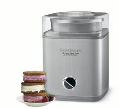 Cuisinart Ice Cream, Frozen Yogurt and Sorbet Maker Stainless Steel