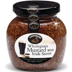 Lakeshore Whole Grain Mustard with Irish Stout
