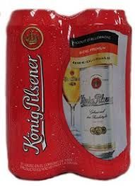 Konig Pilsner - 4 Pack of 16.9 Cans