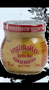 Inglehoffer Extra Hot Horseradish Mustard 4 OZ