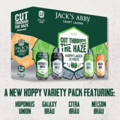 Jack's Abby Cut Through The Haze Variety Pack / 12-pack cans