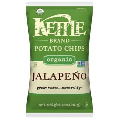 Kettle Organic Jalapeno Potato Chips 5 OZ