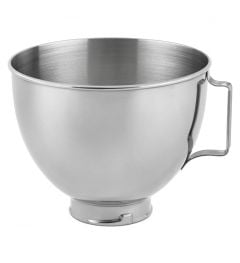 Kitchen Aid 4.5Qt Polished Stainless Steel Bowl with Handle