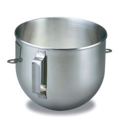 Kitchen Aid 5Qt Polished Stainless Steel Bowl with Handle