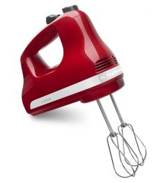 Kitchen Aid 5 Speed Slide Control Ultra Power Hand Mixer Empire Red