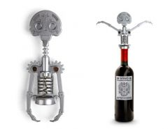 Kikkerland Day of the Dead Corkscrew