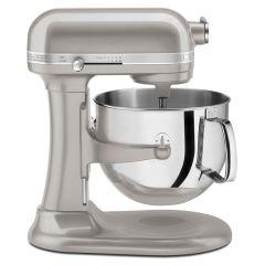 Kitchen Aid 7Qt 1.3HP Pro Line Stand Mixer Sugar Pearl Silver