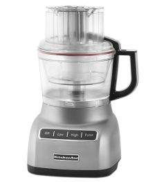 Kitchen Aid 9 Cup Food Processor with Exactslice System Contour Silver