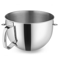 Kitchen Aid 6Qt Polished Stainless Steel Bowl with Handle