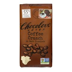 Chocolove Coffee Crunch Dark Chocolate Bar - 3.2 oz