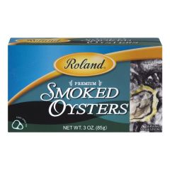 Roland Smoked Oysters - 3 oz Can