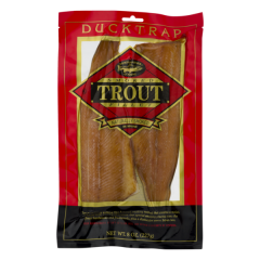 Ducktrap Smoked Trout Filet 8 OZ