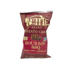 Kettle Bourbon Barbecue Potato Chips - 5 oz Bag