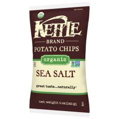 Kettle Organic Sea Salt Potato Chips - 5 oz Bag