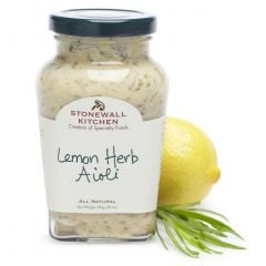 Stonewall Kitchen Lemon Herb Aioli 10 oz