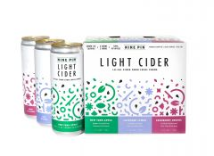 Nine Pin Cider Works Light Cider Variety / 6-pack cans