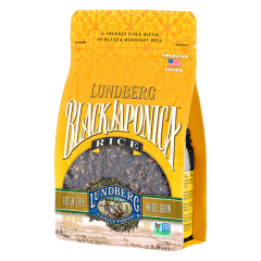 Lundberg Black Jaaponica Rice 16 oz Bag