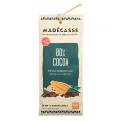 Madecasse 80% Dark Chocolate Bar 2.64 OZ