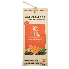 Madecasse 70% Dark Chocolate Bar 2.64 OZ