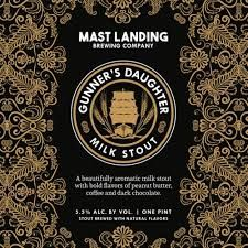 Mast Landing Brewing Co. Gunner's Daughter / 4-pack cans
