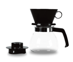 Melitta 6 Cup Glass Pour Over Coffee Brewer