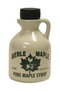 Merle Maple Medium Grade A Amber Maple Syrup Jug 16 oz