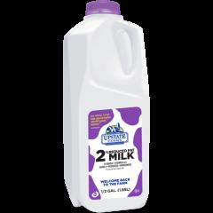 Upstate Farms 2% Milk - 1/2 Gallon