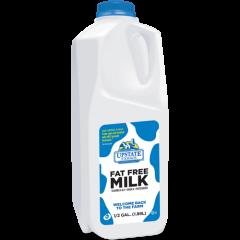 Upstate Farms Skim Milk - 1/2 Gallon