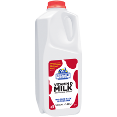 Upstate Farms Whole Milk - 1/2 Gallon