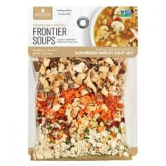 Frontier Mushroom Barley Soup Mix 4 oz Bag