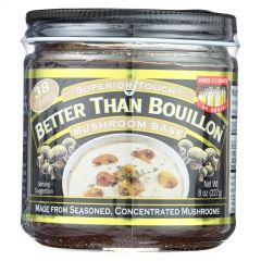 Better Than Bouillon Mushroom Base 8 oz Jar