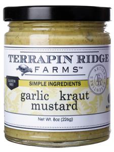 Terrapin Ridge Farms Garlic Kraut Mustard 10.5 oz