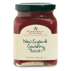 Stonewall Kitchen New England Cranberry Relish 13 oz