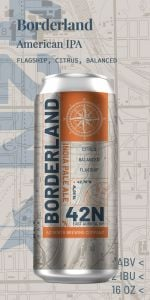 42 North Borderland IPA / 4-pack cans